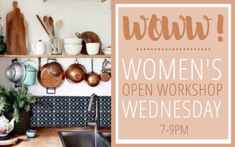 WoWW! Women's Open Workshop Wednesdays