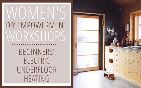 Beginners' Electric Underfloor Heating